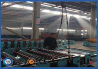 Fast Speed Metal Deck Roll Forming Machine , Punching Metal Mesh Production Line