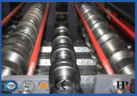 Hydraulic decoiler Metal Deck Roll Forming Machine High Speed 10-12m/min