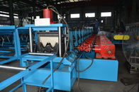 Two Wave 55KW Power Guardrail Roll Forming Machine Gearbox Or Chain Transmission