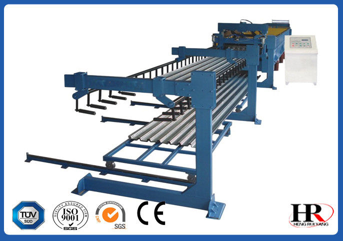 Steel Structure Cold Roll Forming Machine Metal Deck Walk Scaffolding Steel Profile