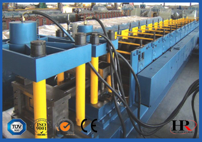 Durable K Type Stud And Track Roll Forming Machine Fully Automatic Galvanized